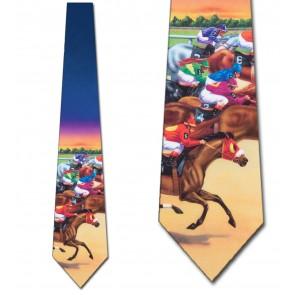 Race Horses Necktie