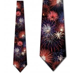 Fireworks - 4th of July Necktie