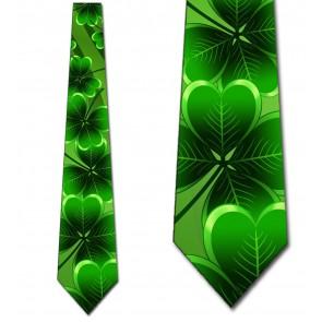 Lucky Shamrock Necktie