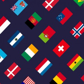 Real World Flags - Diagonal Necktie