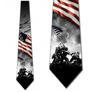 World War II - Patriotic Symbols Necktie