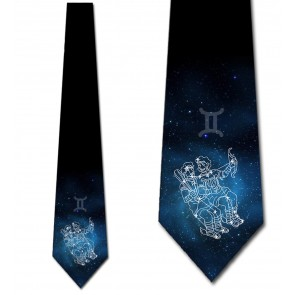 Astrology - Gemini Necktie
