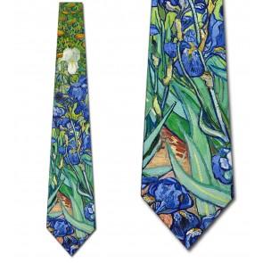 Van Gogh - Irises Necktie
