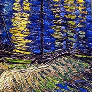Van Gogh - Starry Night Over the Rhone Necktie
