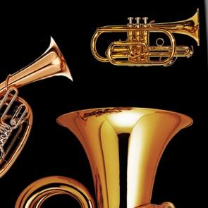 Brass Instruments Necktie