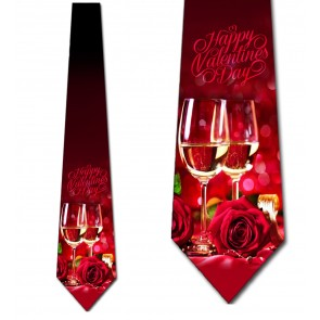 Valentine's Date Night Necktie