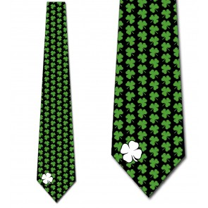 Simple Clovers - Green Necktie