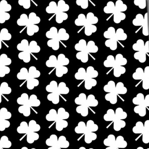 Simple Clovers - White Necktie