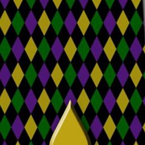 Mardi Gras Diamonds Necktie