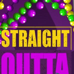 Straight Outta Mardi Gras Necktie