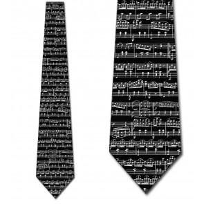 Music Sheet - Black Necktie