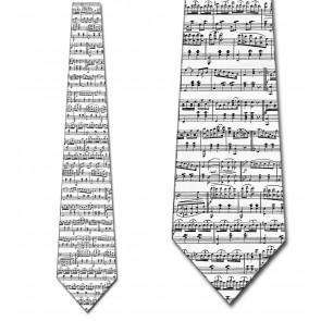 Music Sheet - White Necktie