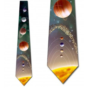 Out of This World! - Solar System Necktie