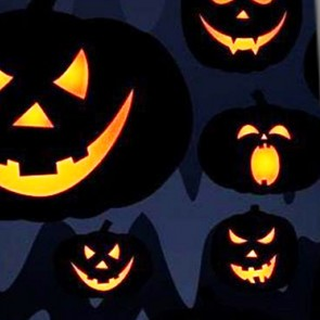 Jack-o-Lanterns In the Night Necktie