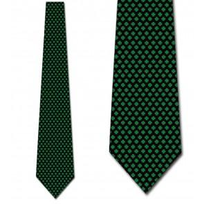 Mini Clovers Allover Necktie