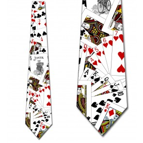 Deck of Cards - Vintage Joker Necktie
