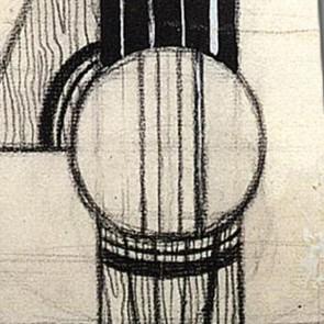 Juan Gris - Still Life with Guitar Necktie