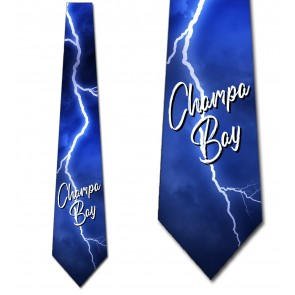 Champa Bay Lightning Strike Necktie