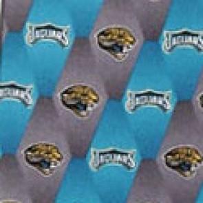 NFL Jacksonville Jaguars Stripe Necktie