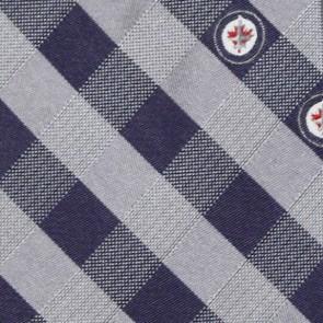 NHL Winnipeg Jets Woven Check Necktie