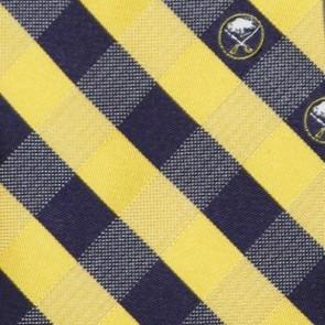 NHL Buffalo Sabres Woven Check Necktie