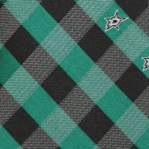 NHL Dallas Stars Woven Check Necktie