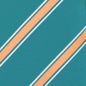 NFL Miami Dolphins Poly Stripe Necktie