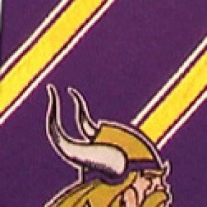 NFL Minnesota Vikings Poly Stripe Necktie
