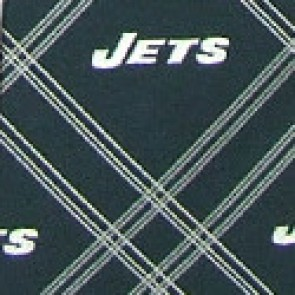 NFL New York Jets Woven Diamond Necktie