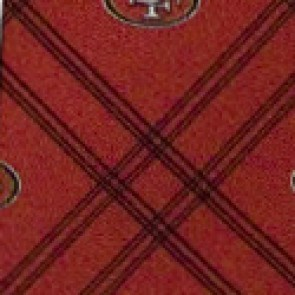NFL San Francisco 49ers Woven Diamond Necktie
