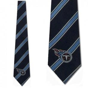 NFL Tennessee Titans Poly Stripe Necktie