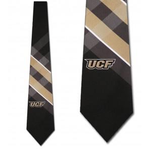 UCF Golden Knights Grid Necktie