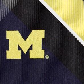 Michigan Wolverines Grid Necktie