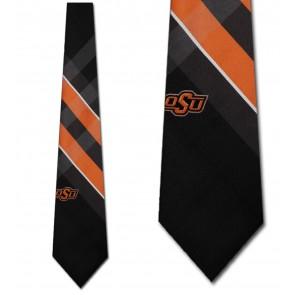 Oklahoma State Cowboys Grid Necktie