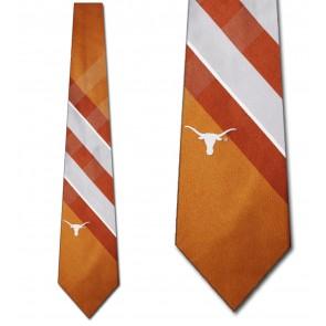 Texas Longhorns Grid Necktie