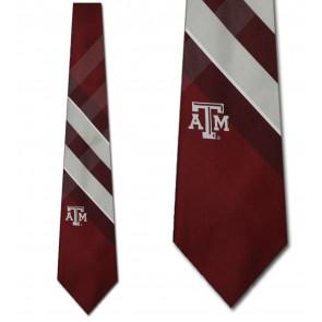 Texas A&M Aggies Grid Necktie