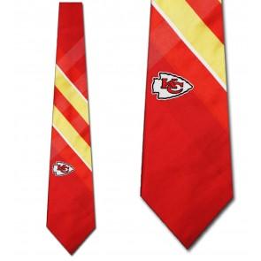 NFL Kansas City Chiefs Grid Necktie