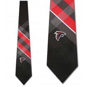 NFL Atlanta Falcons Grid Necktie
