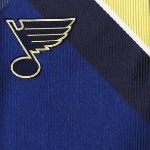 NHL St. Louis Blues Grid Necktie
