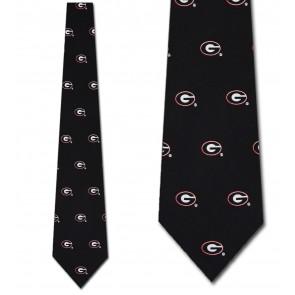 Georgia Bulldogs Prep Necktie