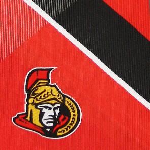 NHL Ottawa Senators Grid Necktie