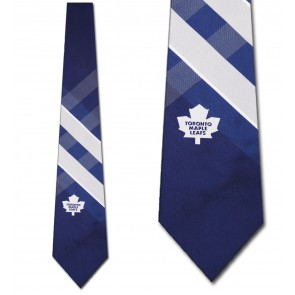 NHL Toronto Maple Leafs Grid Necktie