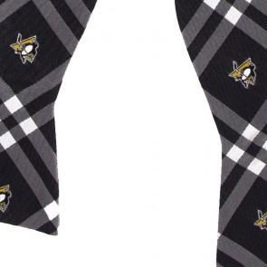 Penguins Self Tie Bow