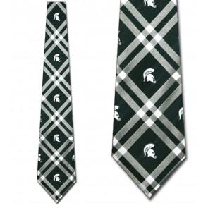 Michigan State Rhodes Necktie