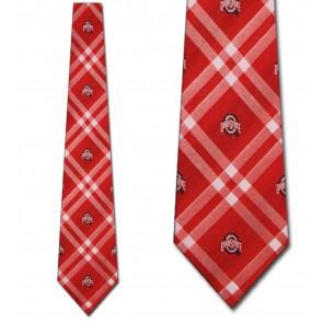 Ohio State Buckeyes Rhodes Necktie