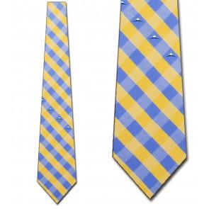 Denver Nuggets Woven Check Necktie
