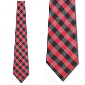 NFL Arizona Cardinals Woven Check Necktie