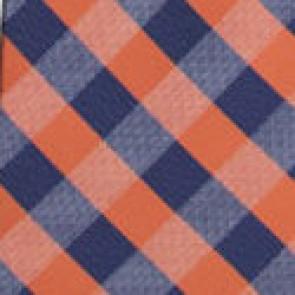 NFL Denver Broncos Woven Check Necktie