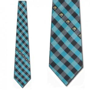 NFL Jacksonville Jaguars Woven Check Necktie