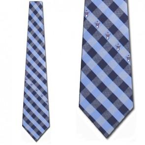 NFL Tennessee Titans Woven Check Necktie